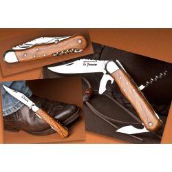 Couteau Pionnier chasse 4 pieces genevrier, 12 cm