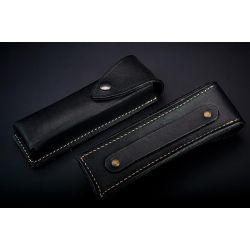 Etui cuir 14.5 cm - Noir