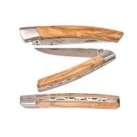 Couteaux le Thiers en bois d'olivier